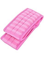 Ruiting Peeling Loofah Back Scrubber mit extra großen natürlichen Luffa Reduzieren zurück Akne Badesachen Pink