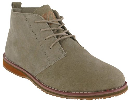 MENS SUEDE LEATHER LACE UP DESERT HIGH QUALITY DESERT BOOT UK SIZES6 7 8 9 10 11 (UK 10, BEIGE)
