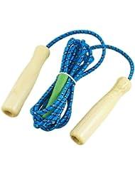 Dcolor Corda di salto fitness Connessione Esercizio Salto con manici in legno