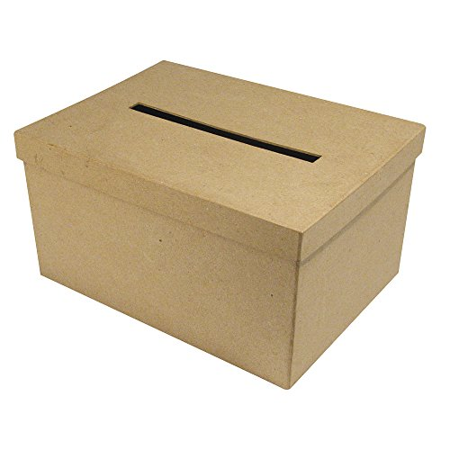 DIY Kartenbox aus Pappmaché