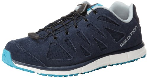 Salomon Ellipse Sport Damen Traillaufschuhe Deep Blue/Cane/Glacier