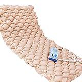 Masaje de presión de aire Colchón Antiescaras Almohadilla de masaje Cuidado de cama individual Ancianos Estar paralizado Paciente Masaje de cuerpo completo con orificio