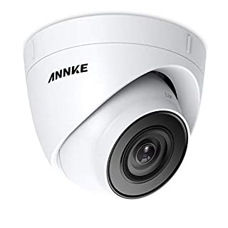 ANNKE POE Security camera 5MP HD 2560x1920 Dome outdoor Home surveillance camera,IP67 Weatherproof,Super EXID Night Vision, Motion Detection Alarm IP Cam Support Onvif & h.265+