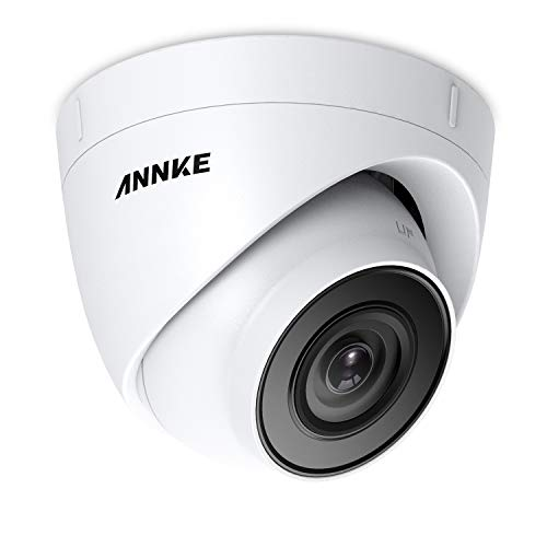 ANNKE POE Security camera 5MP HD 2560x1920 Dome outdoor Home surveillance  camera,IP67 Weatherproof,Super EXID Night Vision, Motion Detection Alarm IP