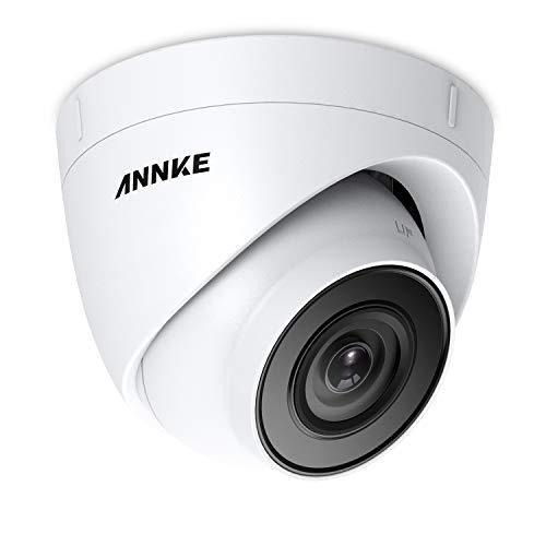 ANNKE 5MP PoE IP Kamera,Bewegungserkennung HD Überwachungskamera für Aussen innen,EXIR Nachtsicht bis zu 30M,Support Onvif Überwachungssystem