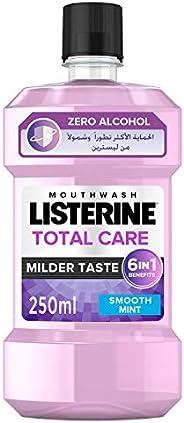 LISTERINE Breath Freshening Mouthwash, Total Care, Milder taste, 250ml