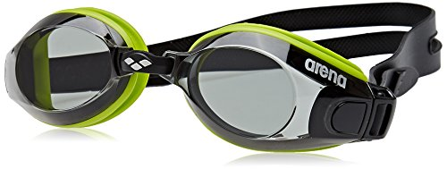 Arena Zoom X-Fit Occhialini, Unisex, Nero (Green-Smoke-Black), Taglia Unica