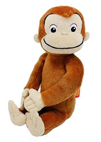 Curious George Stuffed Curtain Holder of [730433]