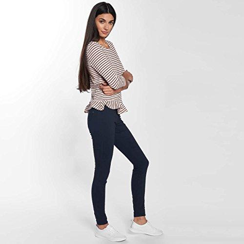 JACQUELINE de YONG Damen Jeans / Skinny Jeans jdyNew Five Blau