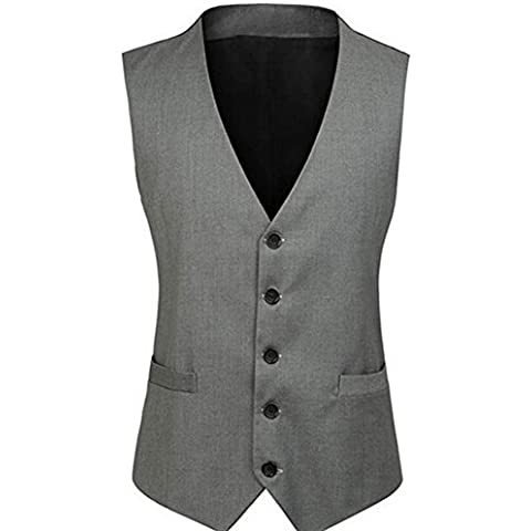 Highdas Nuovo Stile Britannico Mens Joker Trend Panciotto Leisure Suit Vest