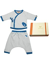 Pandi Panda Baby Boys' Pyjama Set Blue Riviera Blue 6 to 12 Months