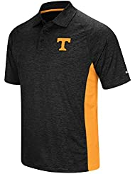 "Tennessee Volunteers NCAA ""Wedge"" Men's Performance Polo shirt Chemise - Black"