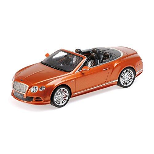 Minichamps Maßstab 1: 182015Bentley Continental GT Speed Convertible Model Kit (orange)