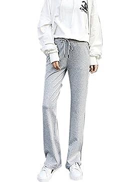 Pantalón Deportivo Para Mujer Bootcut Cómodos Suaves Con Cordón Pantalones Jogpants
