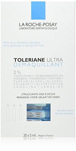 La Roche-Posay Toleriane Ultra Démaquillant Reinigungslotion für Gesicht und Augen, 30er Pack (30 x 5 ml)