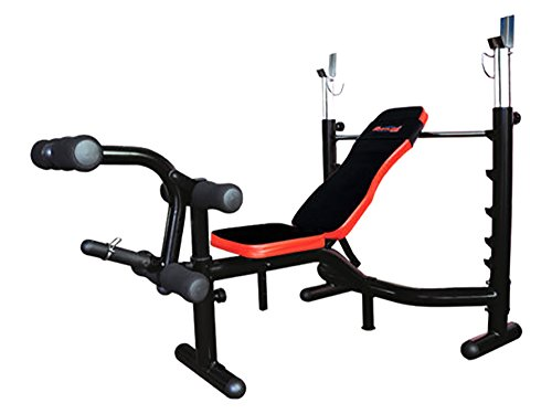 Pro Bodyline Club Class Multi Weight Bench With Incline-Flat-Decline Bench Press