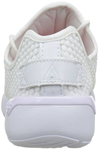 Asfvlt Speed, Basse Unisex Adulto Blanc White Dots