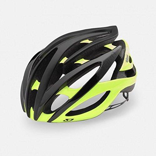 Atmos II Fahrradhelm Black-Yellow S