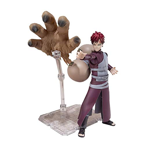 Action Figure of SHFiguarts Gaara Naruto Shippuden - Equipped with Replaceable Facial Hands and Expressions - High 15CM