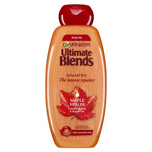 Garnier Ultimate Blends Maple and Castor Oil Shampoo 400 ml