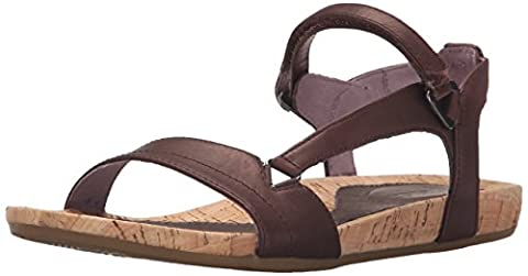 Teva Capri Universal, Women's Sandals, Brown (Pearlized Chocolate Pchc), 6