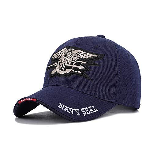 6be49ed6a0b9 Wxtreme Clásico británico Hombre US Navy Gorra de béisbol Navy Seals Cap  Tactical Army Cap Trucker Gorras Snapback Hat para Adultos sombrilla al  Aire ...