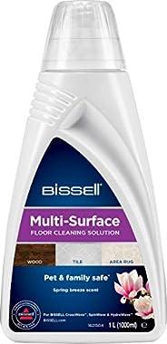 BISSELL Multi-Surface rengöringsmedel till Crosswave, Crosswave Pet Pro, Spinwave och andra rengörare för fler