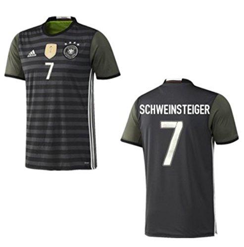 Trikot Adidas DFB 2016-2018 Away (Schweinsteiger 7, 128)
