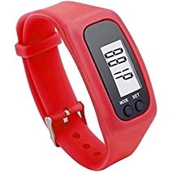 Hanyia Digital Pedometer Run Walking Distance Watchband Bracelet Fitness Trackers