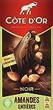 Cote d'Or Brüsseler Nuss, Zartbitter Mandel Tafelschokolade, 16er Pack (16 x 180 g)