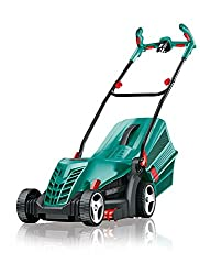 Bosch Lawnmower ARM 34, grass catcher box, carton (1300 W, cutting height 20-70 mm, cutting width 34 cm, 11 kg)