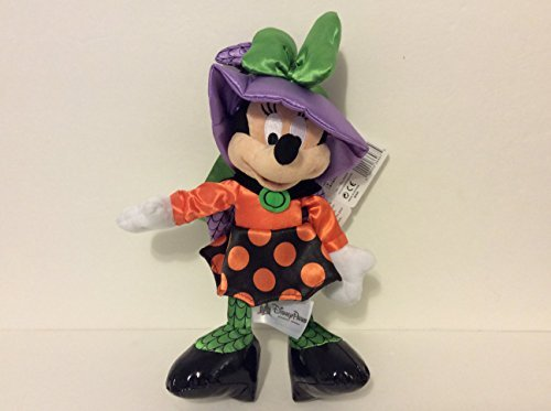 Disney Parks 9 Minnie Mouse Halloween Witch Plush Toy New With Tags by Disney