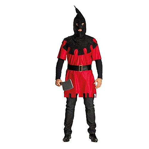 Henker Herren Kostüm mit Haube zu Halloween Karneval Fasching Gr.54
