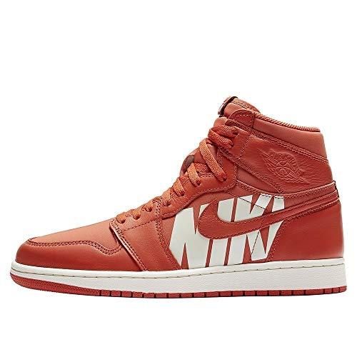 Nike Air Jordan 1 Retro High Og - vintage coral/sail, Größe:12