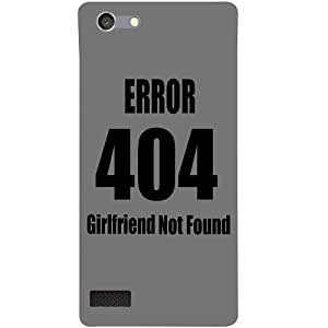 Casotec Funny Quotes Design 3D Hard Back Case Cover for Oppo Neo 7