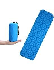 Aufblasbare Isomatte, CAMTOA Ultraleichte Tragbare Luftmatratze Sleeping Pad Air Matratze, Luftbett für Camping, Wandern, Reise, Strand, Outdoor