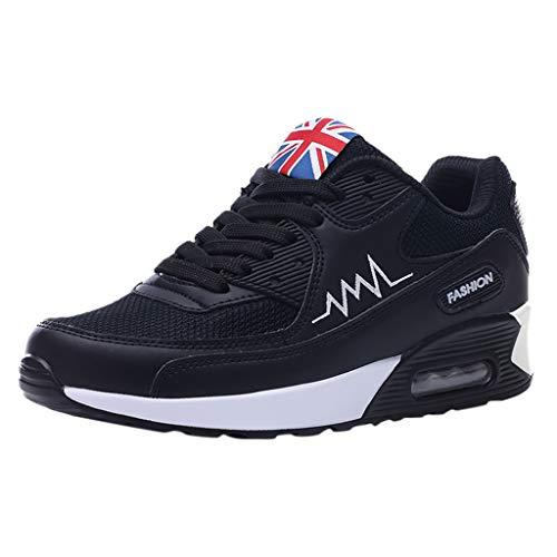 LMMET Sneakers Alte Donna Traspirante Scarpe Donna Estive Comode Scarpe Running Scarpe da Rugby...