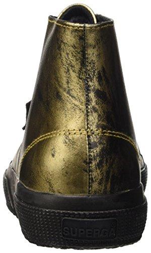 Superga 2795-Leametplaquew, Scarpe Low-Top Donna Oro (Orange Gold)