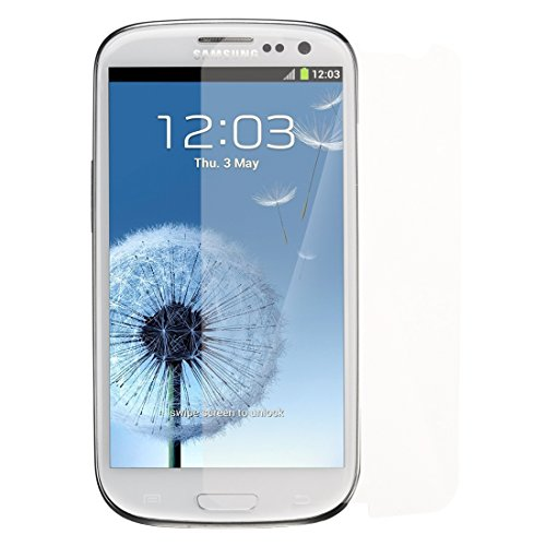 TOOGOO(R) Schirm-Schutz fuer Samsung-Galaxie S3 S III AT & T, T-Mobile, Sprint, Verizon / i9300 3 Stueck in 1 Packung (Phone Galaxy 3 Sprint S)