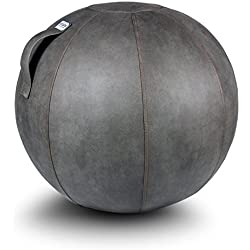 VLUV VEEL Zitbal Kunstleder Mud 75 cm
