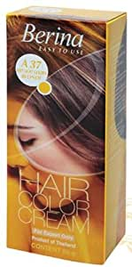 Berina Hair Color Cream A37 (Very Light Golden Blonde)