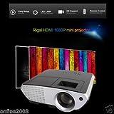 SLB Works Brand New 5000 Lumens LED Home MulitMedia Theater Cinema USB TV VGA SD HDMI Mini Projector