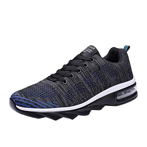 JYJM Sportschuhe Herren Mode Leichtes Sneaker Laufschuhe rutschfeste Sportschuhe Atmungsaktive Sneakers Bequeme Leichtgewicht Sport Outdoorschuhe Trekking Wanderschuhe -