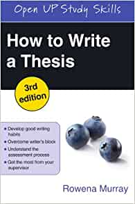 how to write a working thesis