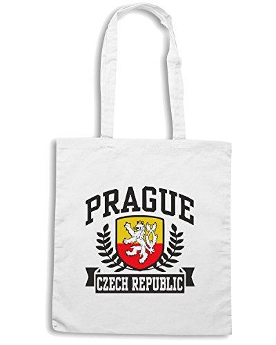 T-Shirtshock - Borsa Shopping TSTEM0077 prague czech republic Bianco