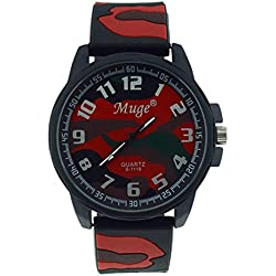 Jamicy® Muge Personalized Mens Camouflage Sports Strap Fashion Sports Wrist Watches