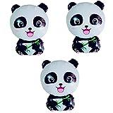 Toyvian Tier Panda Folien Luftballons Nette Party Dekoration Luftballons Liefert für Kinder 3 Stück