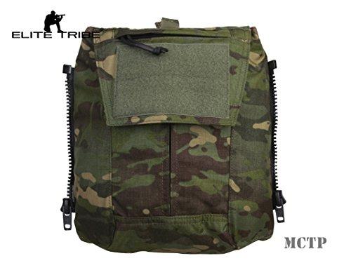 Jagd Combat MOLLE Rucksack Zip-On Panel–für Weste AVS jpc2.0CPC Multicam Tropic