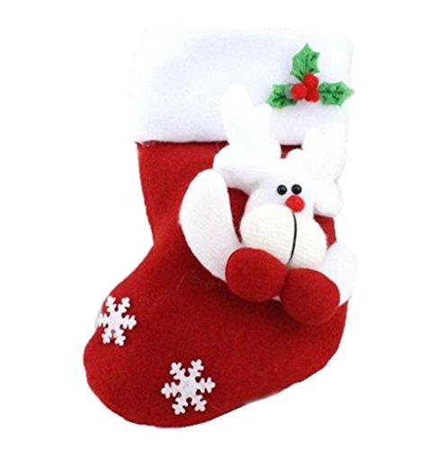 A&b Zubehör Handtuch Baum (WINWINTOM® Weihnachtsstrumpf-Weihnachtshängende Dekoration-Partei-Verzierung (B))