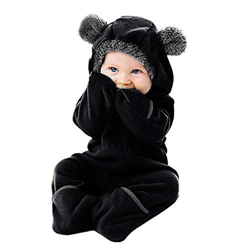 Strampler Baby Boy Mantel Hoodie Baby Panda niedlichen Kostüm Kinder Jungen Mädchen Strampler Overall (Panda Kinder Kostüm)